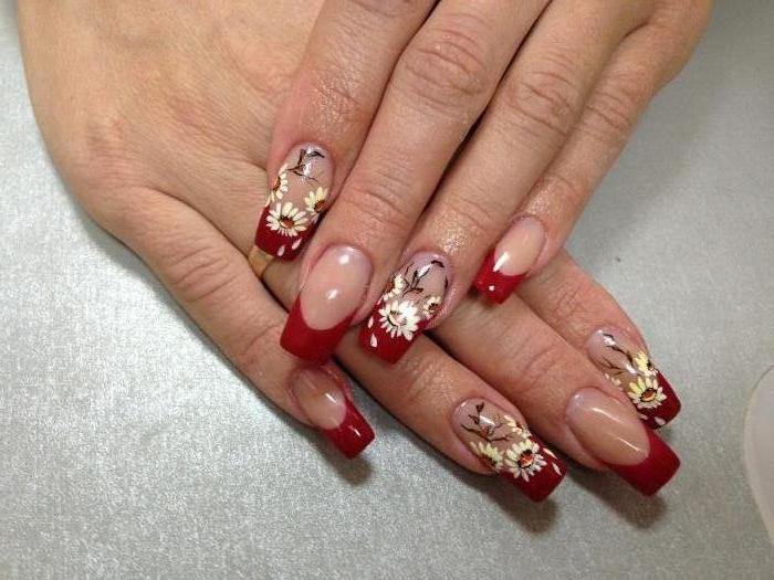 Дизайн ногтей фото-роспись